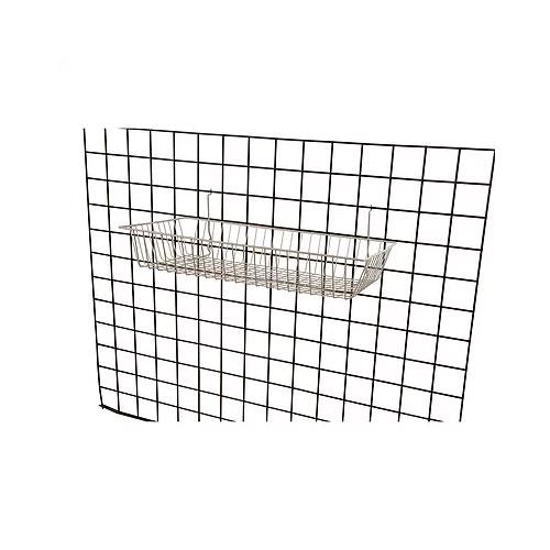 24W-12D-4H-Shallow-Basket Chrome