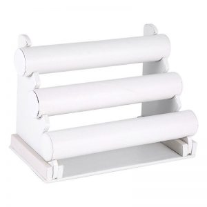 3-Bar-Bracelet-Display-Shelf White