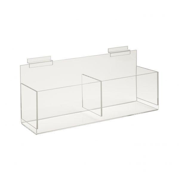 Acrylic Double Hosiery Bin-16x7x5