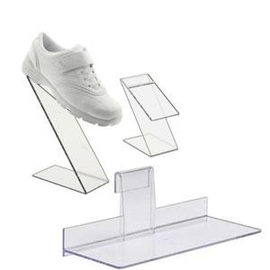 Acrylic Shoe Shelves