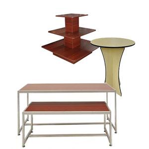display tables