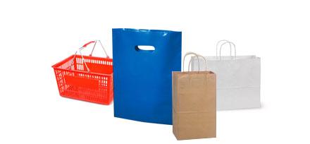 shopping bags basket