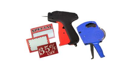 tags guns sale labels