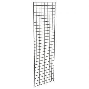 2x7 black grid panel