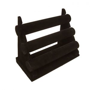 3-Bar-Bracelet-Display-Shelf-black-velvet