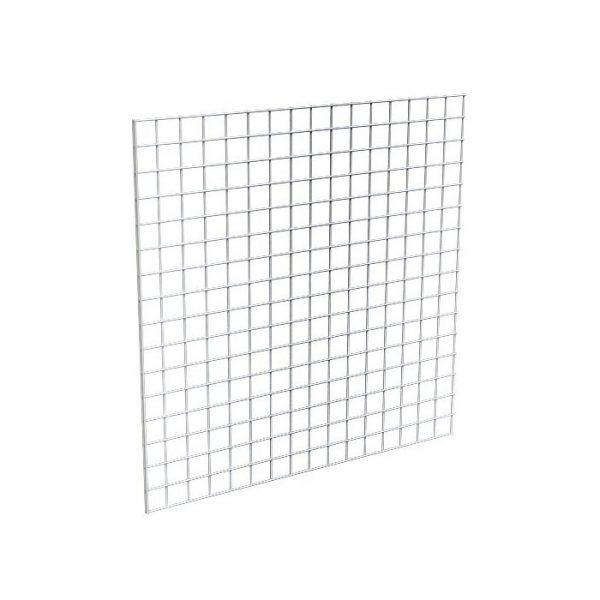 4x4 white grid panel
