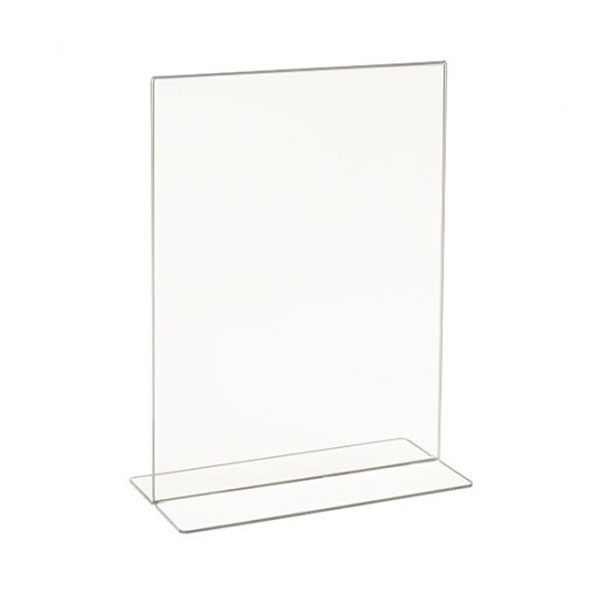 """8 ½""""W x 11″H Acrylic Bottom Load Counter Top"""