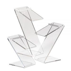 Acrylic Countertop Shoe Display
