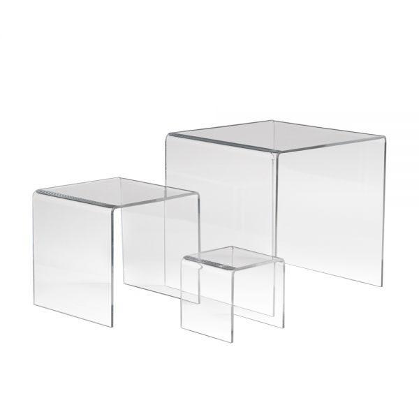 Acrylic Display Risers 3 4 5