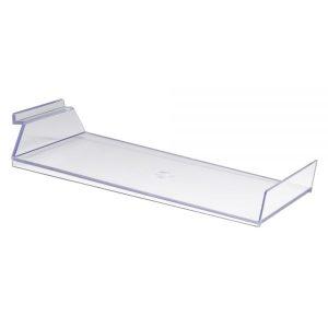 Slanted Slatwall Cap Shelf-Lip