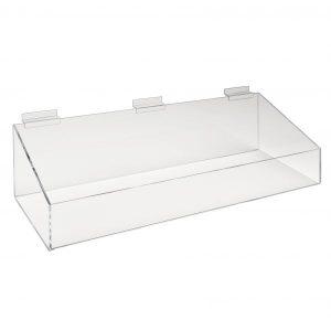 acrylic slatwall tray