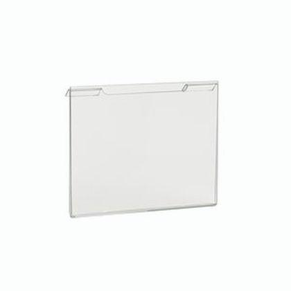 "7"" x 5.5"" Acrylic Horizontal for Slatwall - Gridwall"