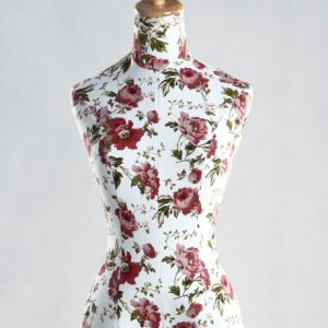 Female Flower Texture Cover Dress Form MM-4