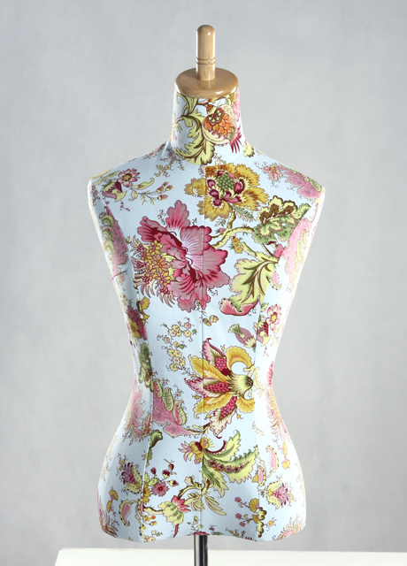 Female Flower Texture Cover Dress Form MM-2