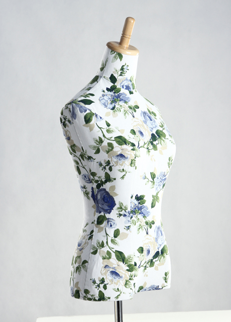 Female Flower Texture Cover Dress Form MM-1
