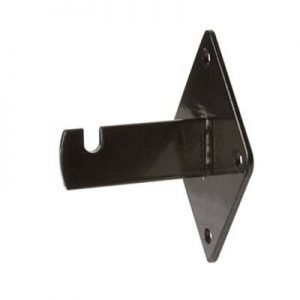 "Wall Bracket 3-3/4""L x 3""W x 2-1/2""D Black"