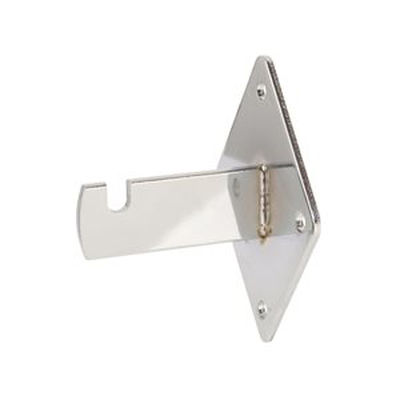 "Wall Bracket 3-3/4""L x 3""W x 2-1/2""D Chrome"