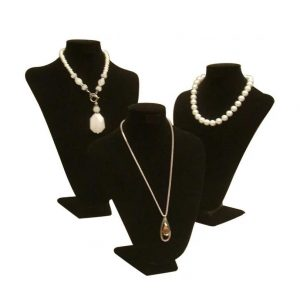 Necklace Stand Black