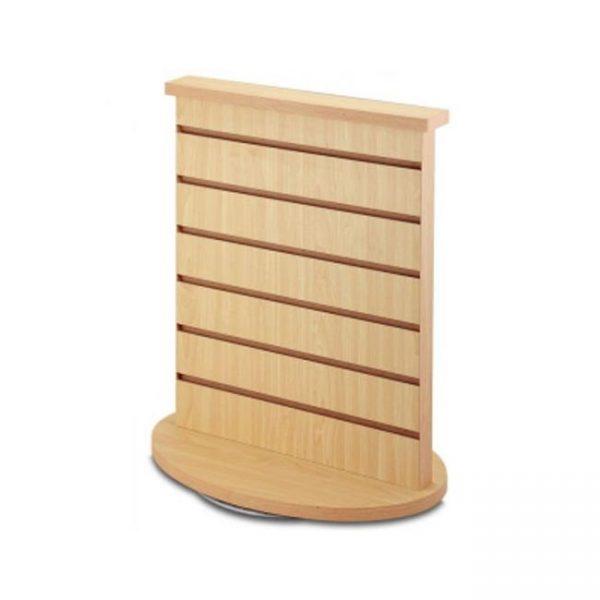 slatwall countertop spinner 2-sides