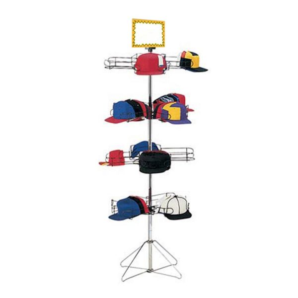 SD SPCAP4 FLOOR CAP DISPLAY 64″(H) x 26″(W) BASE INCLUDES SIGN HOLDER