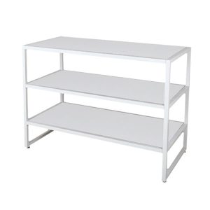 3-tire console table white