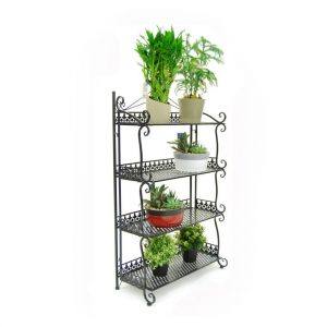 metal 4 shelves