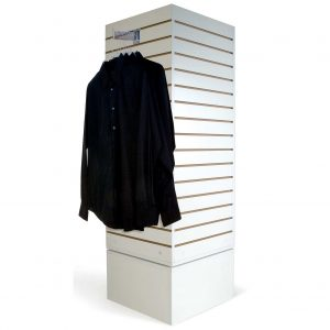 merchandise slat wall tower
